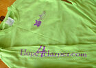 Long Sleeve PURPLE HIPPO Tee TShirt CDKL5 Support Epilepsy Research FREE SHIP