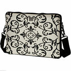 ACME Black & white Laptop Sleeve For MacBook/tablet 15.4 inch With Strap