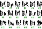 James Bond Vinyl Decal Sticker Car Window Laptop Iphone Agent 007 USA Seller $6.29 USD