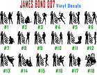 James Bond Vinyl Decal Sticker Car Window Laptop Iphone Agent 007 USA Seller $11.81 CAD on eBay