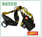 LED HEAD TORCH THREE FUNCTION BATTERIES INCLUDED HEADLIGHT LED