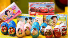 Zaini Disney Chocolate Surprise 3 Eggs With Toy Figure Inside choco ladies