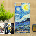 Fashion Painting Various Pattern PC Hard Case Phone Cover Skin For vivo