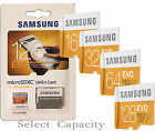 Samsung EVO Micro SDXC Fast Speed Storage Memory Card for Android Tablets PCs