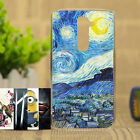 Fashion Painting Various Pattern PC Hard Case Phone Cover Skin For LG