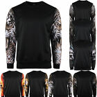 Zipravs Mens Womens Pullover Graphic T Shirt Crew Neck body thermal S~XL