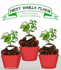 Venus Fly Trap Garden Tea Party EDIBLE wafer Cupcake Toppers cup cake