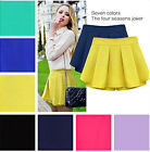 NEW Women's Slim Chiffon Pleated Culottes Mini  Skirt Short Pants 099a