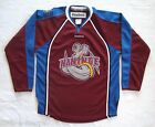 HANINGE Sweden Anchors HC Reebok Authentic Swedish Ice Hockey Jersey Jr Sz L XL
