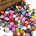 New 20/50/100/500pc Mix  ladybug DIY Kid's appliques/craft/sewing buttons PT39