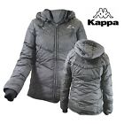 Kappa - Women's Quilted Jacket Winter Farina With Hoodie Size L Colour Black