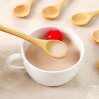 Mini Wooden Spoon Natural Small Tea Coffee Spoons Honey Soup Spoon