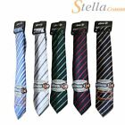 PillowTie Inflatable Pillow Tie Stripe Necktie Soft Silk Secret Santa Xmas Gift