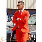 Mens Red Devil Opposuit Comic Relief Suit & Tie Fancy Dress Costume Outfit