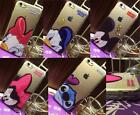 Disney Cartoon Angry Style Clear Soft Rubber Back Case For iPhone 5S 6 6S Plus