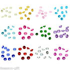 50PCs Floating Charms Fit Living Locket Round Birthstone 5mm