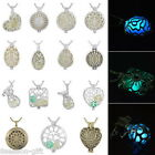 Fashion Fluorescent Hollow Pendant Necklace Jewelry Mother's Day Gift M10307