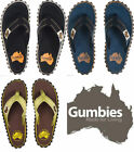 Mens Boys Unisex Gumbies Summer Flip Flops Cotton Canvas Slip On Beach Toe Post
