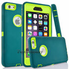 "Protective Hybrid Shockproof Hard Case Cover For Apple iPhone 6 4.7""/6s Plus 5.5"