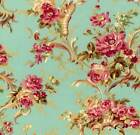 ROSE HILL LANE FLORAL RJR SEW QUILTING QUILT COTTON FABRIC *Free Oz Post