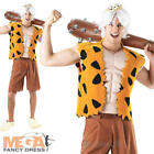 Flintstones Bamm-Bamm Mens Fancy Dress 1960s TV Character Adults Costume Outfit