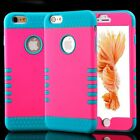 """Armor Shockproof Rugged Hybrid Rubber Hard Cover Case For iPhone 6 4.7"""" Plus 5.5"""