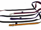 Official Libby's Rubber Grip Reins, Loop, Buckle, Trigger
