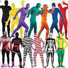 ADULT SKINZ 2ND SKIN ALL IN ONE BODY SUIT HALLOWEEN FANCY DRESS COSTUME OUTFIT