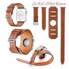 4 in1 Cuff Leather Herme watch Band Replace Wrist Strap For Apple watch 38/42mm