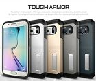 US Location ShockProof Rubber Heavy Duty Hybrid Case Cover For Galaxy S6/S6 Edge