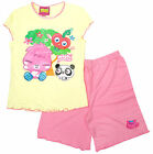 Girls Moshi Mosters ShiShi Moshling Poppet Shorty Pyjamas Lemon 5 to 10 Years