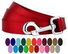 Country Brook Design® 1 Inch Nylon Dog Leash (Various Colors & Lengths)