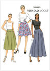 Very EASY Vogue 9090 Gathered Pleated Skirt Three Lengths Sewing Pattern V9090