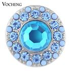 20PCS/Lot Wholesale Vocheng 2 Colors Glam Crystal Bead Snap Button Vn-1111*20
