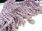 purple 8cm Fringe Tassel Trim Upholstery Curtain lamp trimmings bag costum trims