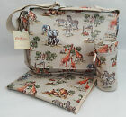Cath Kidston Nappy Changing Bag, Mat & Bottle Holder - OC Safari - BNWT