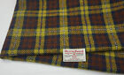 Harris Tweed Fabric & labels 100% wool Craft Material - various Sizes code.apr80