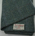 Harris Tweed Fabric & labels 100% wool Craft Material - various Sizes code.apr81