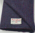 Harris Tweed Fabric & labels 100% wool Craft Material - various Sizes code.apr88