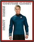 Sci Fi Star Trek Spock TV Movies Hollywood Uniform Fancy Dress Costume Mens