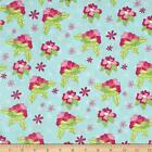 PRETTY LITTLE THINGS FLORAL BLUE 100% COTTON QUILT SEWING FABRIC *Free Oz Post