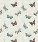 THE BOTANIST BUTTERFLIES 100% COTTON QUILT SEWING FABRIC *Free Oz Post