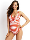 Seafolly-Seaview Tie Front Halter Mailllot