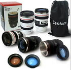 Canon Camera Lens Shaped 24-105mm Hot Cold Coffee Tea Cup Mug Thermos Caniam G6