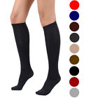 3 Pairs: Women's Light Support Solid Trouser Socks Color Option