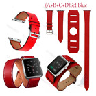 4 in1 Herme Cuff Leather Replace watch Band Wrist Strap For Apple watch iwatch