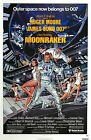 MOONRAKER Movie Silk Fabric Poster James Bond 007 Roger Moore $15.28 CAD on eBay