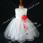 #NLR7 Baby Girls Christening Wedding Evening Birthday Party Night Gowns Dresses