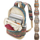 """Canvas Notebook Backpack Case 13"""" 15"""" Laptop PC Rucksack Bag For Sony Thinkpad"""