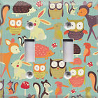 Forest Animals ~Light Switch Cover~Home Decor~Choose Your Plate~TW